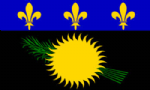 Guadeloupe Large Country Flag - 5' x 3'.